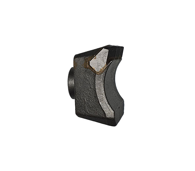 Carbide tipped hammer